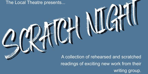 Local Theatre Writing Group Scratch Night