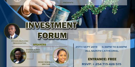 INVESTMENT FORUM tickets