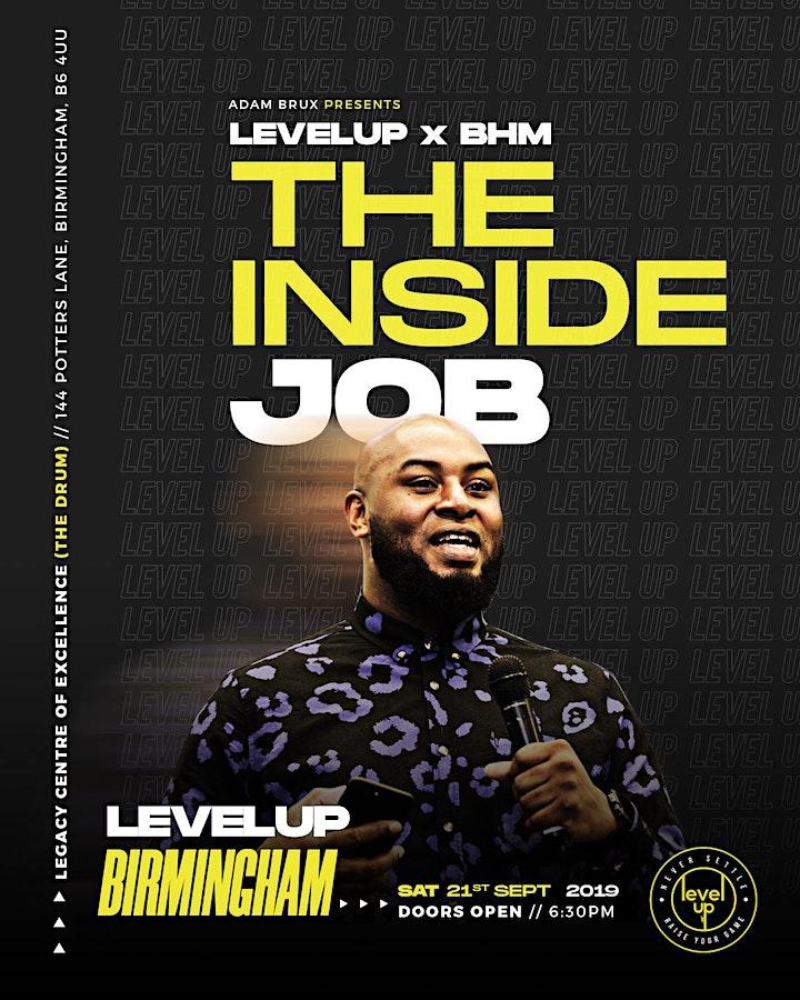 Level UP! - 'The Inside Job' - Birmingham image