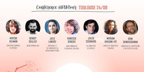 Prenez une dose d'inspiration à la Conférence #BTBTour à Toulouse billets