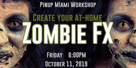 Create Your Own Zombie Look at Home - Workshop tickets