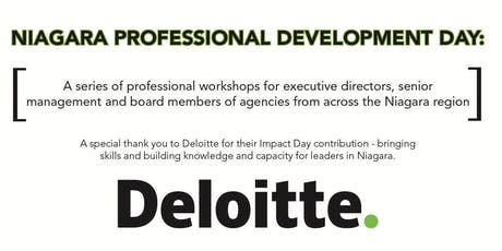 Deloitte Impact Day - Professional Development Workshop Series tickets