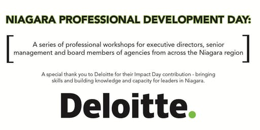 Deloitte Impact Day - Professional Development Workshop Series