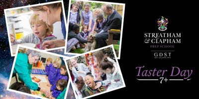 7+ Taster Morning for Streatham & Clapham Prep School Year 3 candidates