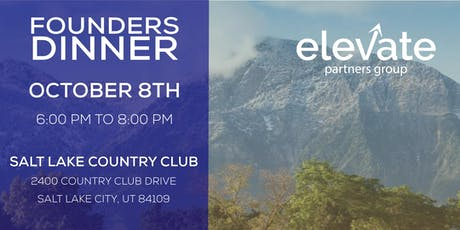 Elevate Partners Founders Dinner tickets