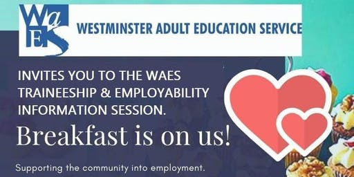 WAES Breakfast Information Session - Traineeships and Employability