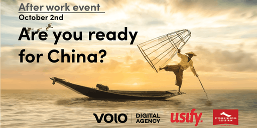 AW: Are you ready for China?