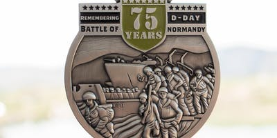 Remembering D-Day 1 Mile, 5K, 10K, 13.1, 26.2-Wichita