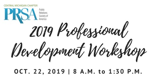 2019 CMPRSA Professional Development Workshop