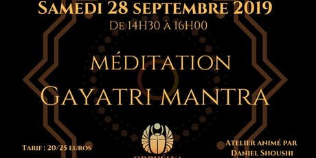 Méditation Gayatri Mantra billets