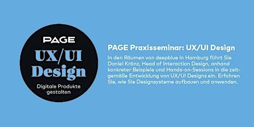 PAGE Seminar »UX/UI Design« mit deepblue networks