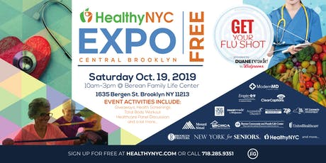 Healthy NYC Expo Series | Berean Community & Family Life Center in Bed Stuy/ Crown Heights, Brooklyn tickets
