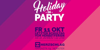 Holiday In Party | ab 16 J.