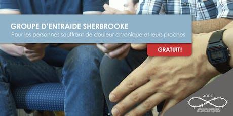 AQDC : Groupe d'entraide Sherbrooke - 18 octobre 2019 billets