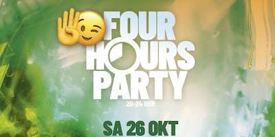 4 Hours Party | ab 16 J. ( ohne U18-Formular)