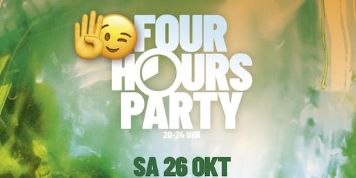 4 Hours Party | ab 16 J. ( ohne U18-Formular)