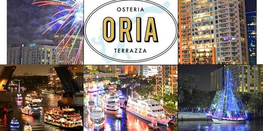 Winterfest Boat Parade 2019 Viewing Party at ORIA