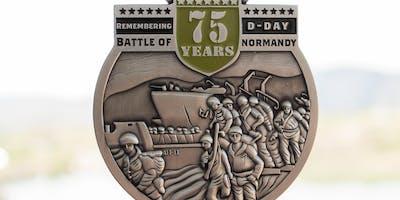 Remembering D-Day 1 Mile, 5K, 10K, 13.1, 26.2-Omaha