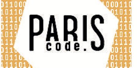 Cérémonie des lauréats ParisCode 4 billets