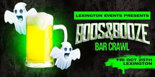 Boos & Booze Bar Crawl - Lexington October 25th
