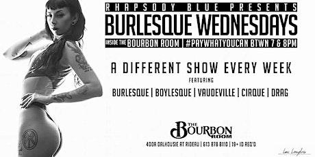 Burlesque Wednesdays tickets