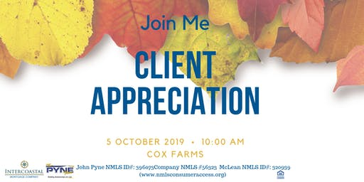 John Pyne Presents: Client Appreciation  Event