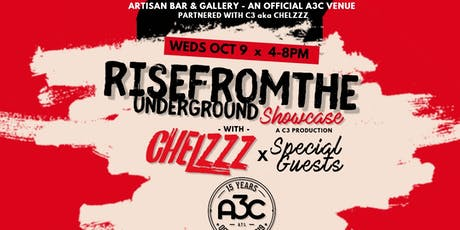 #A3C Rise From The Underground Showcase @ Artisan Bar (Official A3C Venue) tickets