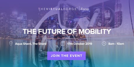 THE FUTURE OF MOBILITY - BREAKFAST EVENT tickets