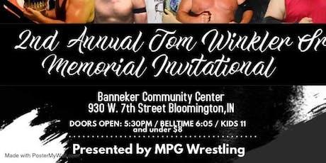 MPG Wrestling presents Indiana Pride Pro Wrestling  Tom Winkler Memorial tickets