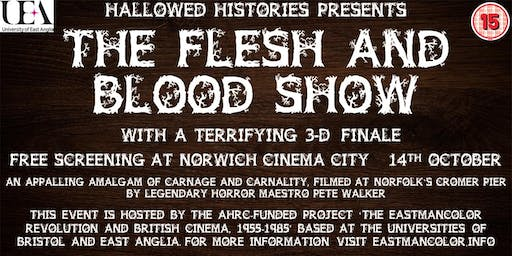 Hallowed Histories Present - The Flesh and Blood Show