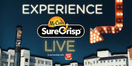 SureCrisp Live tickets
