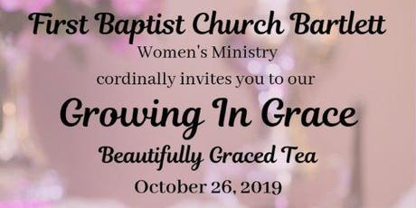 Growing in Grace: Beautifully Graced Tea and Conference tickets