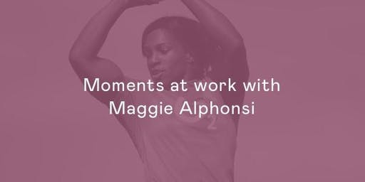 Moments at work with Maggie Alphonsi