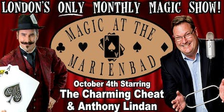 Magic at the Marienbad with Anthony Lindan tickets