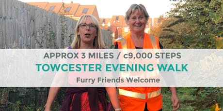 TOWCESTER EVENING WALK | 3.4 MILES | EASY | NORTHANTS tickets