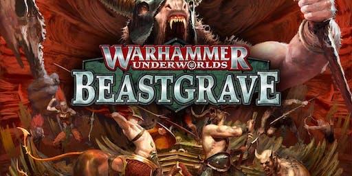 Warhammer Underworlds Beastgrave - événement de lancement