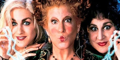 Come and Run Amuck with the Sanderson Sisters!