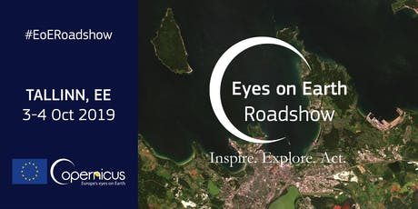 Copernicus 'Eyes on Earth' Roadshows in Tallinn tickets