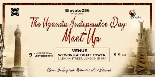 Elevate 256 presents: The Uganda Independence Day Meet Up