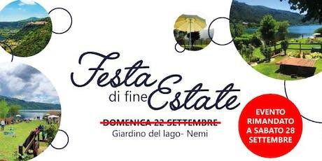 Festa Di Fine Estate tickets