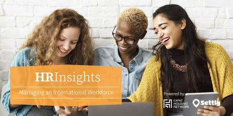 HR Insights: Managing an International Workforce tickets