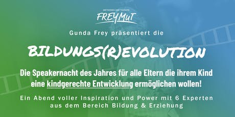 Bildungs-(R)Evolution - Speakernacht 2019 tickets