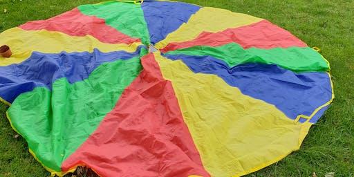 Parachute Games (Whitworth) #halftermfun