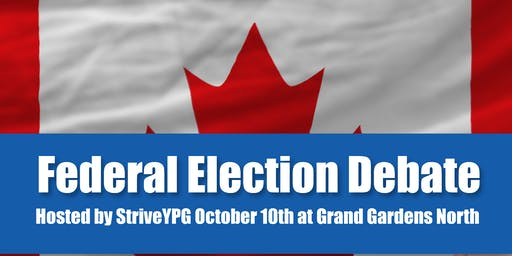 Federal Election Candidate Meet & Greet and Debate for Young Professionals