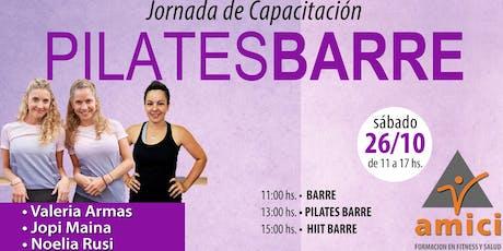Jornada de Pilates Barre entradas