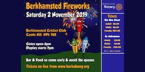 Berkhamsted Rotary Fireworks, DJ and BBQ