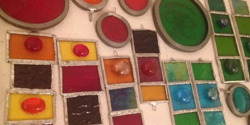 Copper Foil Glass Workshop with Emerald Dunne