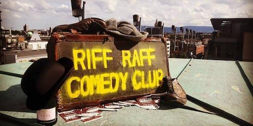 Riff Raff Comedy: September 25th