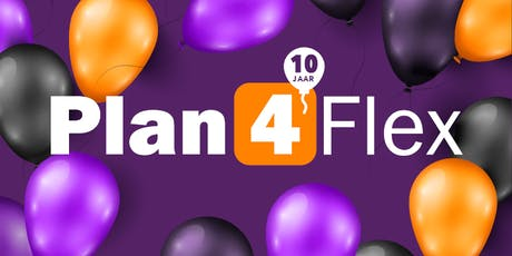 e-Wings ICT, de makers van Plan4Flex bestaan 10 jaar tickets