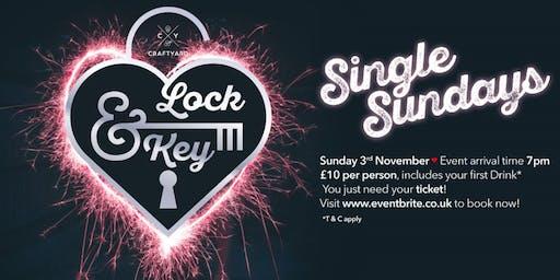 The Craftyard; Gin & Craft Beer Bar - Aylesbury.  Lock & Key Single Sunday!